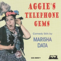 Data - Aggie's Telephone Gems - Comedy Skits by Marisha Data