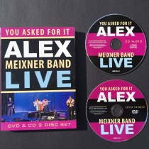 Meixner, Alex - You Asked For It - LIVE - DVD/CD Set