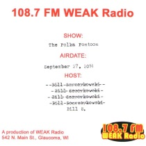 Brusky - The Polka Pontoon - 108.7 FM WEAK Radio -Comedy