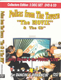 Buffalo Touch with Jerry Darlak - Polkas from the Tavern - DVD and CD Box Set