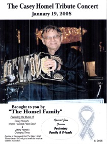 Homel - The Casey Homel Tribute Concert - 2 DVDs