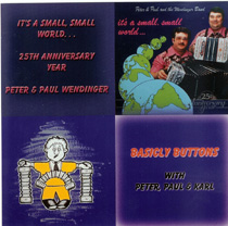 Karl with The Wendingers - Basically Buttons It's A Small, Small World…25th Anniversary Year