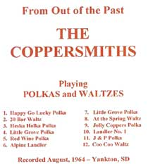 Coppersmiths - 1964 From Out of the Past Playing Polkas and Waltzes