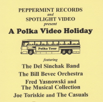 Bevec, Casuals, Musical Collection, Sinchak - A Polka Video Holiday - DVD