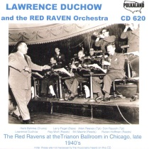 Duchow - Lawrence Duchow and His Red Raven Orchestra - CD620