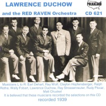 Duchow - Lawrence Duchow and His Red Raven Orchestra - CD621