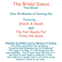 Stosh and Slosh and The Not Ready For Prime Rib Band - The Bridal Dance